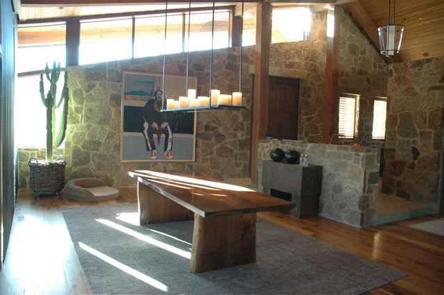 Custom Walnut Wood Slab Dining Table