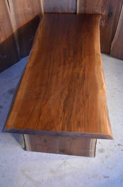 Long Reclaimed Walnut Dining Table
