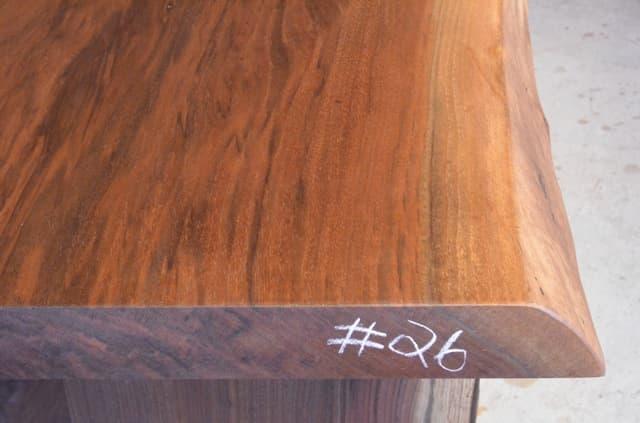 Custom Reclaimed Walnut Dining Table