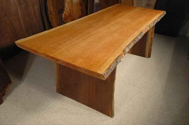 Bookmatched Cherry Custom Dining Table