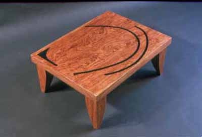 Bubinga stacking custom coffee tables2