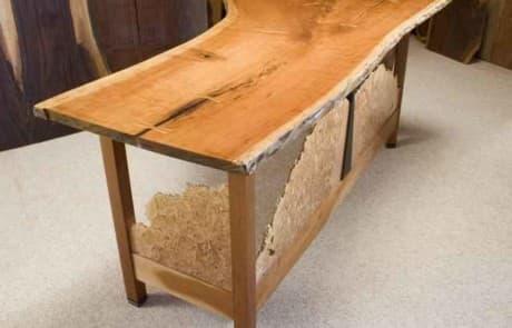Cherry HGTV Custom Desk - as seen on Modern Masters TV show 1