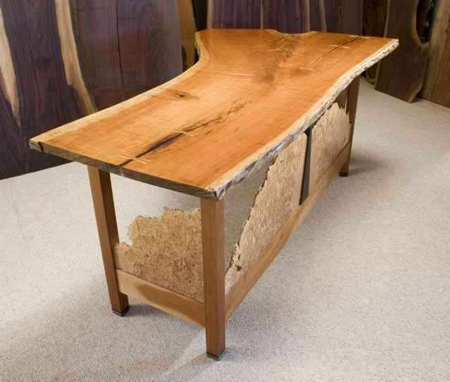 Cherry HGTV Custom Desk - as seen on Modern Masters TV show 1
