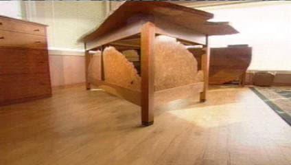 Cherry HGTV Custom Desk - as seen on Modern Masters TV show 4
