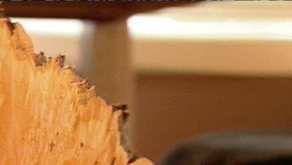 Cherry HGTV Custom Desk - as seen on Modern Masters TV show 5