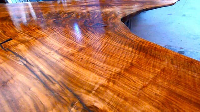 Claro Walnut Crotch 13 foot Dining or Conference Table2