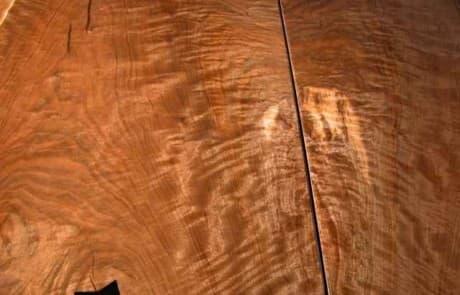 Custom Conference Table - Rustic Slab Walnut 3