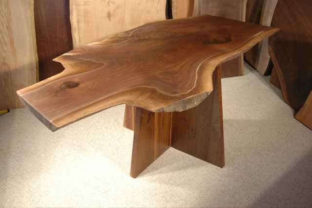 Irregular Organic Shape Custom Made Dining Room Table