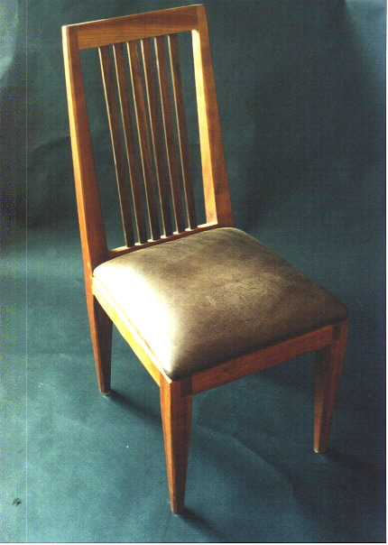 Custom Leather Dining Chairs