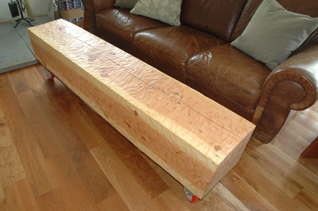 Custom Fir bench