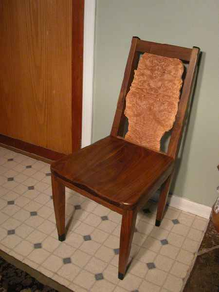 Custom Rustic Dining Chairs