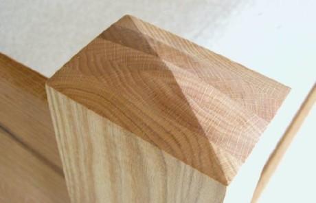 Custom Rustic Oak Bed2