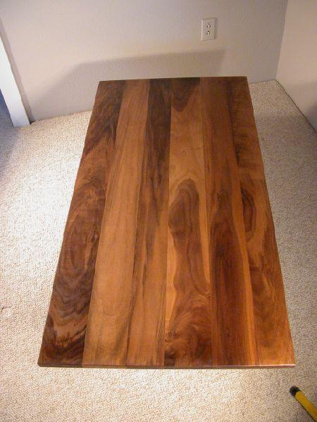 Custom Walnut Coffee Table