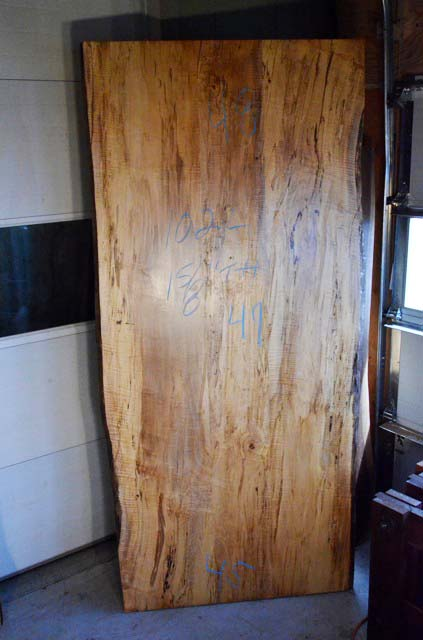 Reclaimed Old Wood Dining Room Table Slab