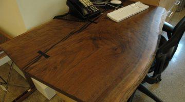 English Walnut desk