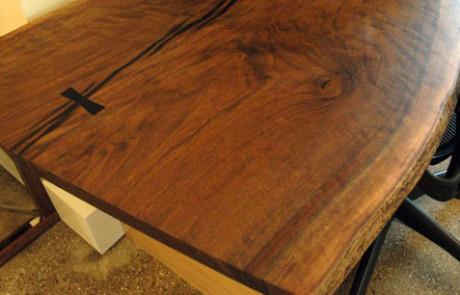 English Walnut desk2