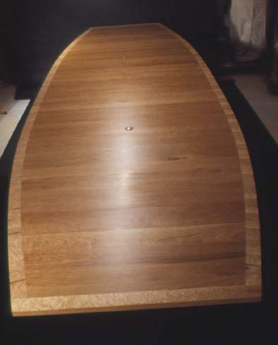 LARGE 16' Cherry and Birdseye Maple Custom Conference Table BoardroomTable 2