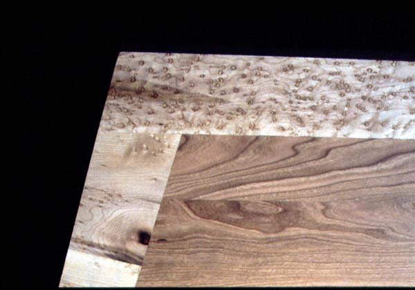 LARGE 16' Cherry and Birdseye Maple Custom Conference Table BoardroomTable4