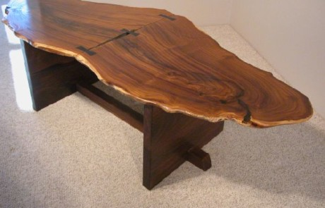 Large Rustic Olive table