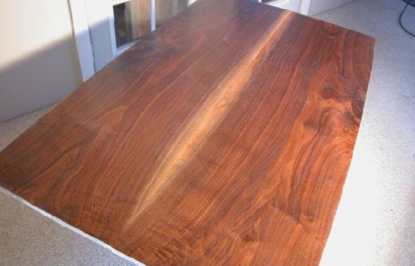 Larger Bookmatched Slab Walnut Custom Dining Table 2
