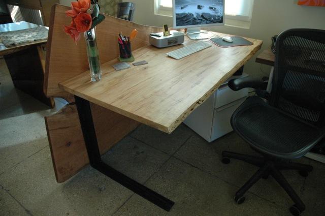 Executive desk custom made. The New York Showroom  Dumond s Custom Handmade Wood Furniture