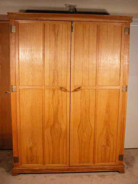 Oak And Ash Armoire