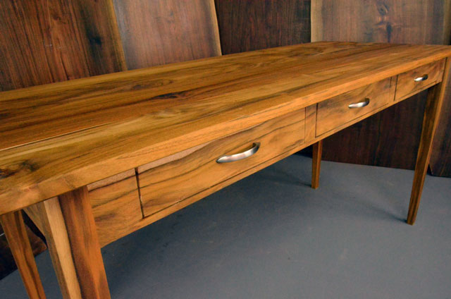 One of a kind - Custom Teak Executive Desk_3