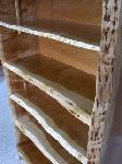 Rustic Custom Bookcase made from Cherry 5