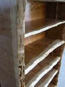 Rustic Custom Bookcase made from Cherry 2 - 1