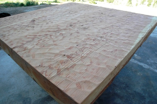 Rustic Fir Dining Table