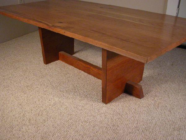 Rustic Knotty Cherry Custom Coffee Table 1