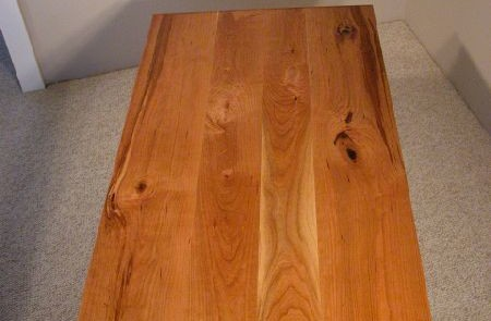 Rustic Knotty Cherry Custom Coffee Table 2