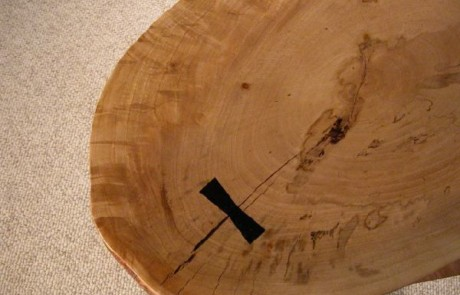Rustic Large Maple Slab Custom Coffee Table 2