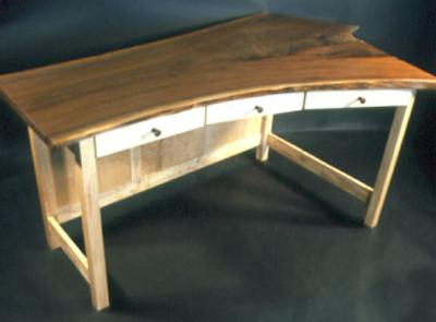 Rustic desks - The Custom Fiorello Desk 1