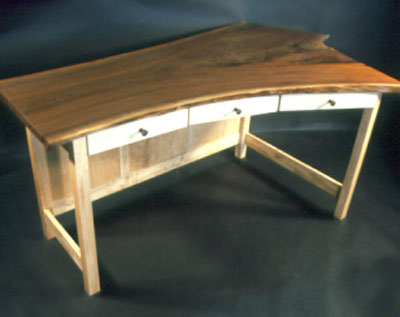 "Rustic salvaged wood desks – The Custom ""Fiorello"" Desk"