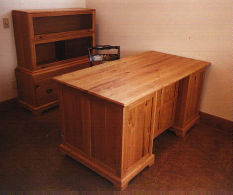 Sun Valley Custom Rustic Cherry Lawyers Desk
