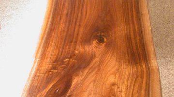 Walnut Slab Rustic CustomCoffee Table 1