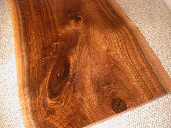 Walnut Slab Rustic Custom Coffee Table 2