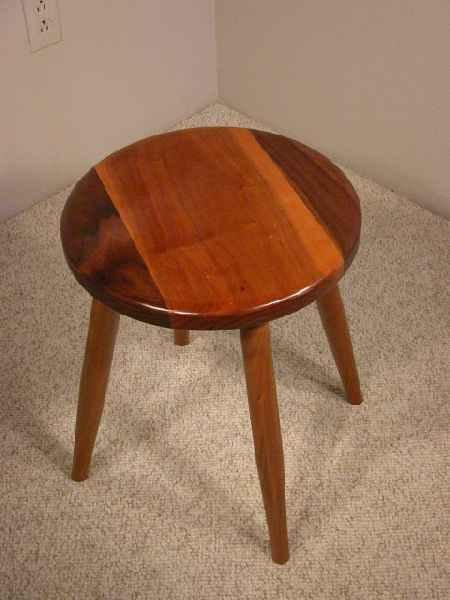 Custom Handmade Wooden Stools Dumond S Custom Furniture