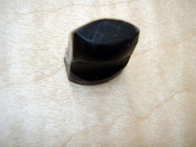 Custom Wooden Display Cabinet Black Knobs