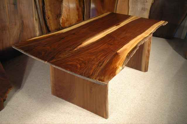 6 foot Custom Walnut Dining Table