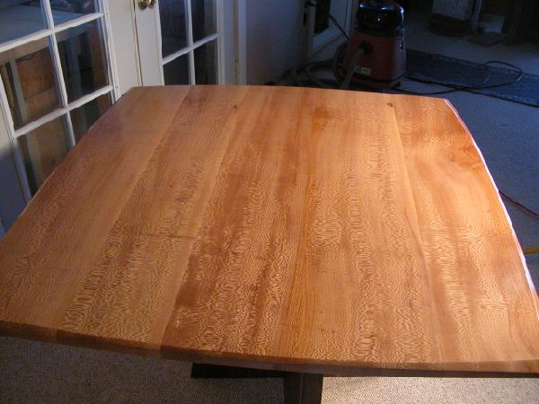 Sycamore Slab Custom Dining Table2