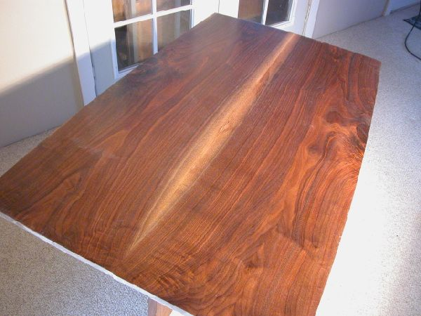 Walnut Plank Wood Dining Table Top