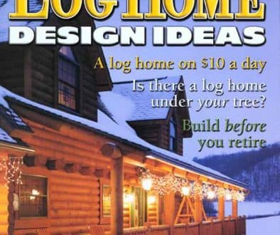 DECEMBER 2001 ISSUE OF LOG HOME DESIGN IDEAS