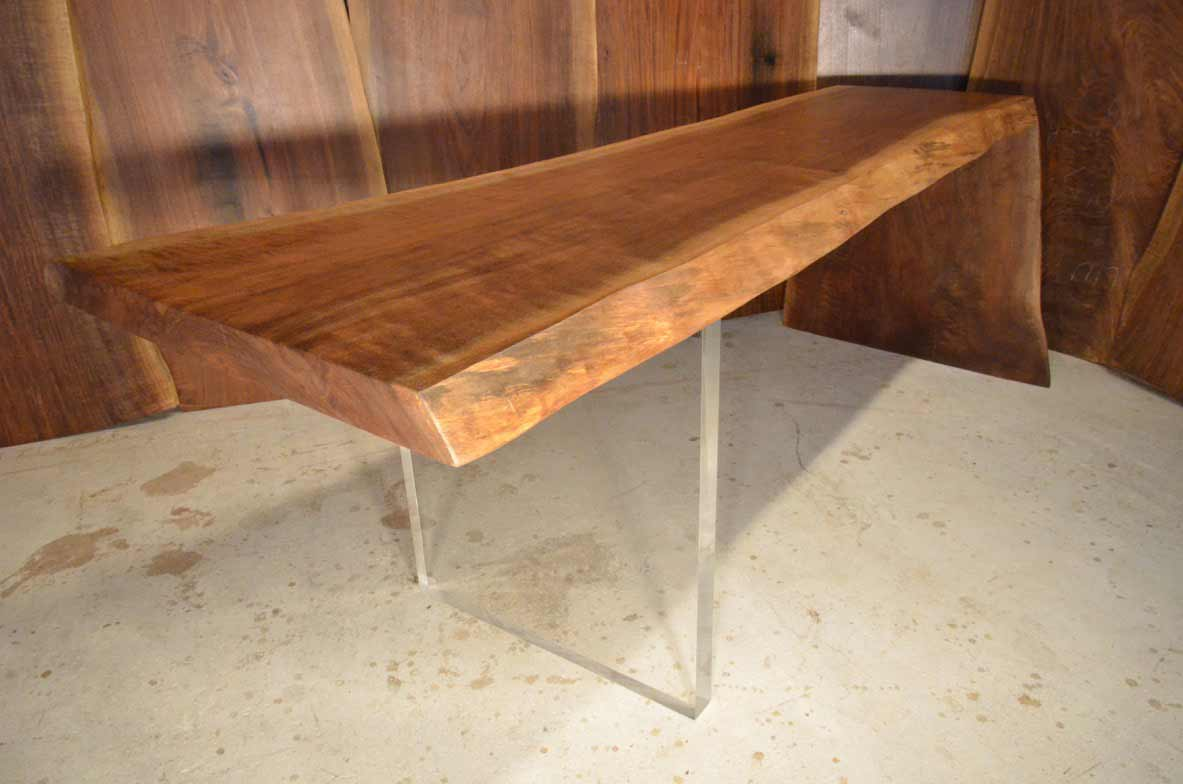 walnut live edge desk