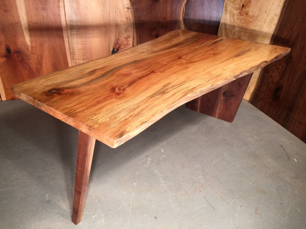 6′ Spalted Sycamore Salvaged Table
