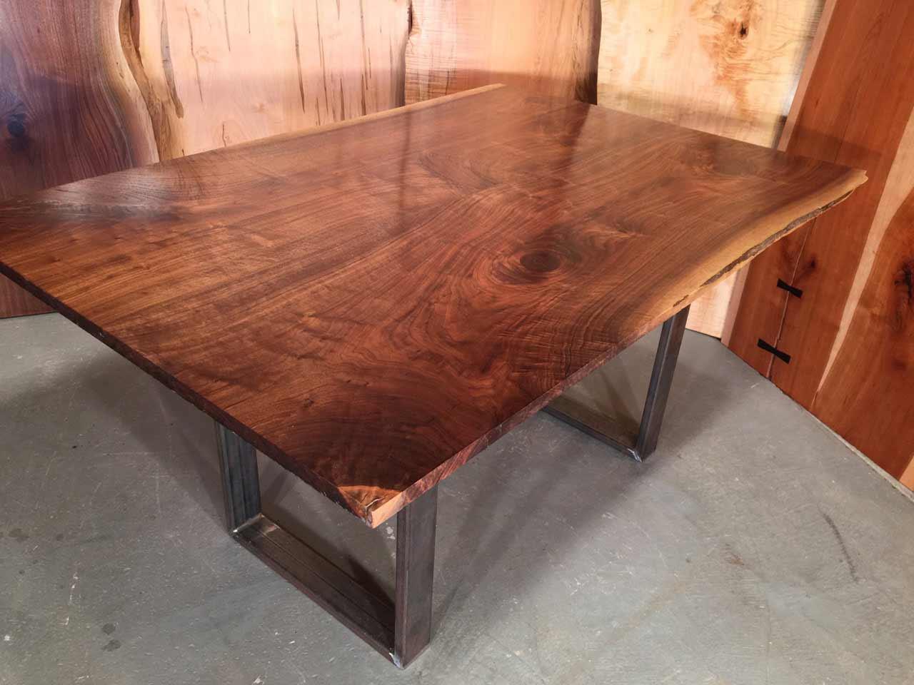 walnut handmade desk
