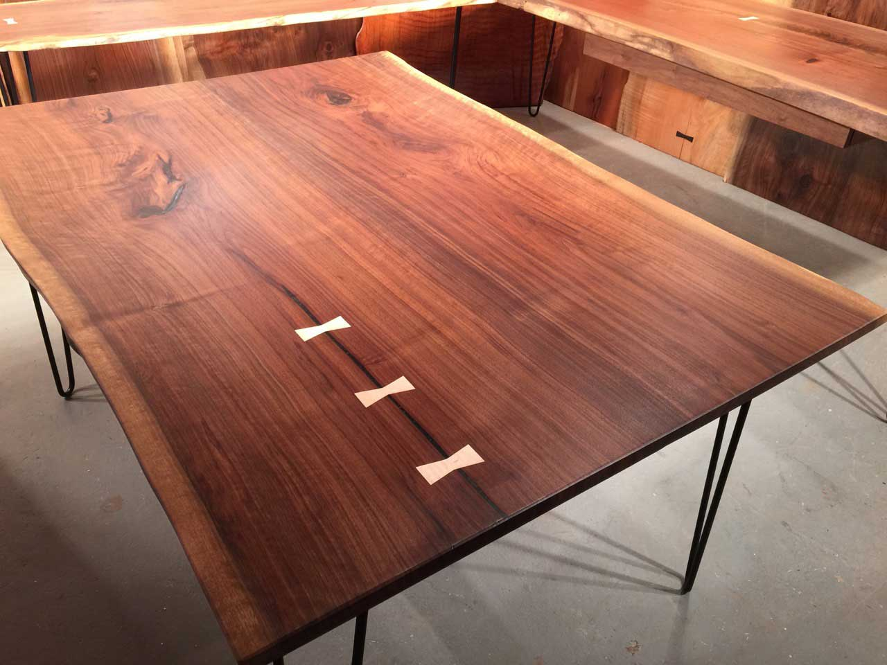 Wood Slab Dining Tables | Dumond's Custom Furniture