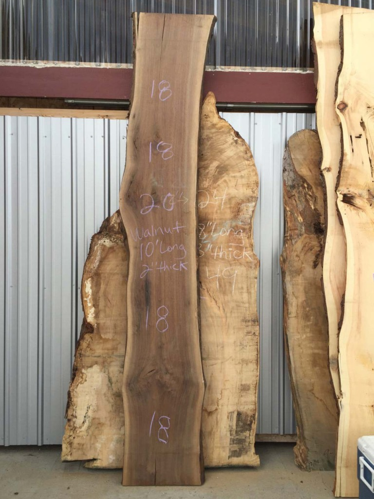 Pennsylvania Planed Wide Walnut