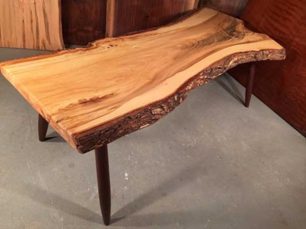 Siberian Elm Natural Edge Coffee Table